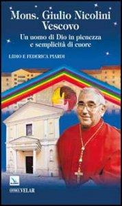 Copertina di 'Mons. Giulio Nicolini Vescovo'