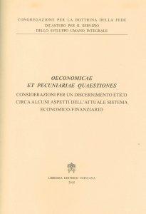 Copertina di 'Oeconomicae et pecuniariae quaestiones'