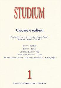 Copertina di 'Studium (2017). Volume 1'