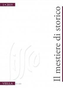 Copertina di 'Il mestiere di storico (2019) vol. 1'