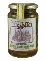 Miele d'acacia con pino mugo (500 gr.)