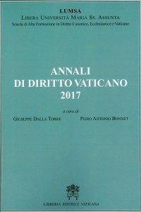 Copertina di 'Annali di diritto vaticano 2017'