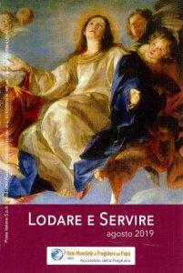 Copertina di 'Lodare e servire. Agosto 2019'