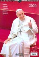 Calendario 2020. Papa Francesco