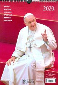 Copertina di 'Calendario 2020. Papa Francesco'