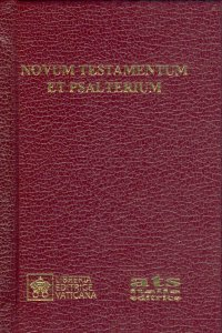 Copertina di 'Novum Testamentum et psalterium'