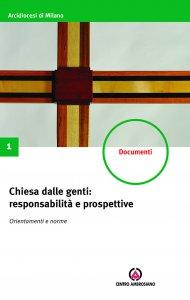 Copertina di 'Chiesa dalle genti: responsabilità e prospettive'