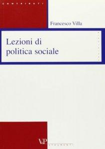 Copertina di 'Lezioni di politica sociale'