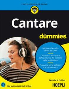 Copertina di 'Cantare for dummies'
