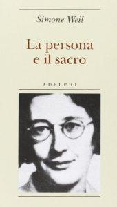 Copertina di 'La persona e il sacro'