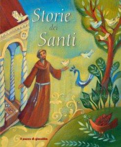 Copertina di 'Storie dei santi'