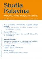 Studia Patavina 2018/1