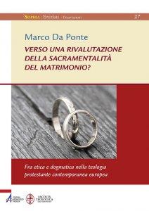 Copertina di 'Verso una rivalutazione della sacramentalità del matrimonio?'