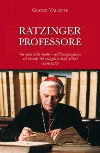 Copertina di 'Ratzinger professore'