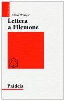 Lettera a Filemone - Wengst Klaus