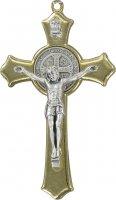 Croce San Benedetto in zama dorata