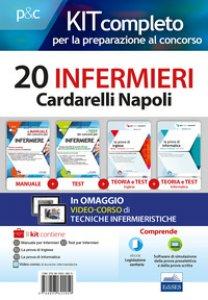 Copertina di 'Kit concorso 20 infermieri AO Cardarelli Napoli. Volumi per la preparazione al concorso di infermiere. Con e-book. Con software di simulazione. Con DVD video'
