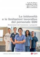 Le inidoneità e le limitazioni lavorative del personale SSN - Carlo De Pietro, Guglielmo Pacileo, Marco Sartirana, Agnese Pirazzoli