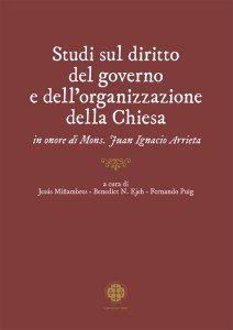 Copertina di 'Studi sul diritto del governo e dell'organizzazione della Chiesa'