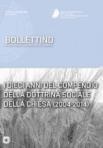 Copertina di 'I Dieci anni del Compendio della Dottrina Sociale della Chiesa'