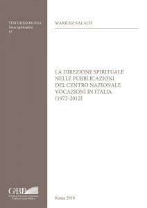 Copertina di 'La direzione spirituale nelle pubblicazioni del Centro nazionale vocazioni in italia (1972-2012)'
