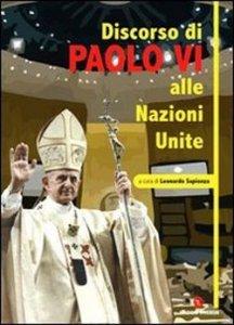 Copertina di 'Discorso di Paolo VI alle Nazioni Unite'