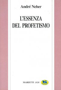 Copertina di 'L' essenza del profetismo'
