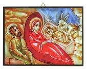 Tavola natività Padre Rupnik stampa 10,8x14,6 cm (Brisbane)