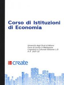 Copertina di 'Corso di istituzioni di economia'