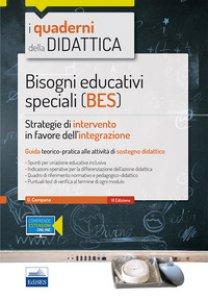 Copertina di 'Bisogni educativi speciali (BES). Strategie di intervento in favore dell'integrazione. Con espansione online'