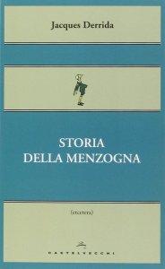Copertina di 'Storia della menzogna.'