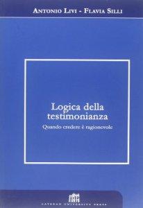 Copertina di 'Logica della testimonianza'