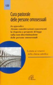 Copertina di 'Cura pastorale delle persone omosessuali'