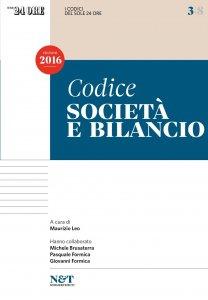 Copertina di 'I Codici del Sole 24 Ore 3 - SOCIETA' E BILANCIO'