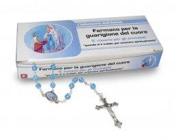 """Copertina di 'Rosario """"Infermeria dell Anima"""" per la Madonna di Lourdes - italiano'"""