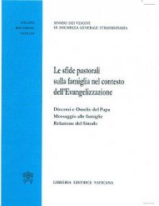 Copertina di 'Sfide pastorali sulla famiglia nel contesto dell'Evangelizzazione'