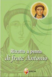 Copertina di 'Ritratto a penna di frate Antonio'