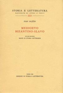 Copertina di 'Medioevo bizantino-slavo'