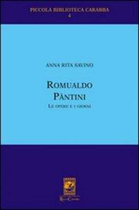 Copertina di 'Romualdo Pantini. Le opere e i giorni'