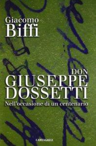 Copertina di 'Don Giuseppe Dossetti'