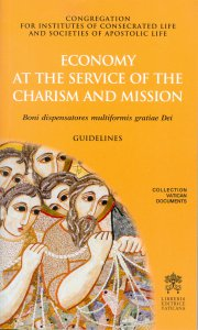 Copertina di 'Economy at the service of the charism and mission'