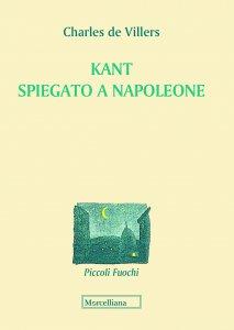 Copertina di 'Kant spiegato a Napoleone'