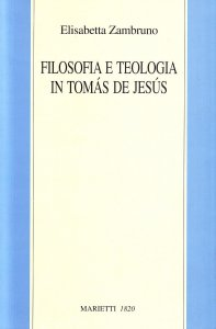 Copertina di 'Filosofia e teologia in Tomas de Jesus'
