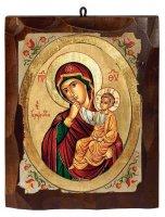 """Icona """"Madonna della carezza"""" (cm 16 x 20)"""