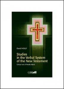 Copertina di 'Studies in the verbal system of the New Testament'