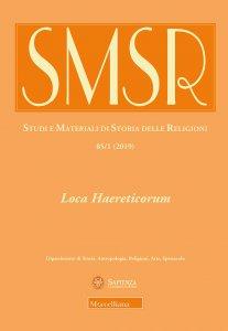 Copertina di 'SMSR. 85/1 (2019): Loca Haereticorum'