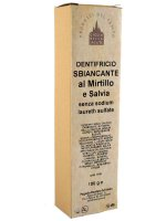 Dentifricio sbiancante mirtillo e salvia
