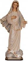 "Statua in legno dipinta a mano ""Madonna di Medjugorjie"" - altezza 20 cm"