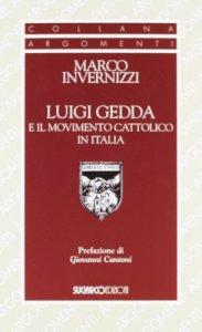 Copertina di 'Luigi Gedda e il movimento cattolico in Italia'