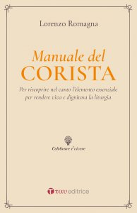 Copertina di 'Manuale del corista'